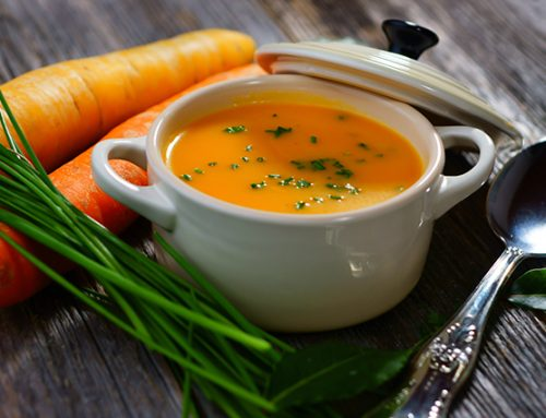 Steamy Winter Carrot Soup Fights Inflammation