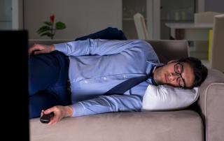 sleep with tv on
