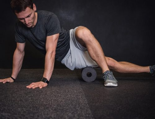 Foam Roll to Keep Yourself Limber and Aligned Between Chiropractic Adjustments