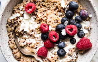 Super Healthy Start Breakfast Idea – Quinoa and Berries!