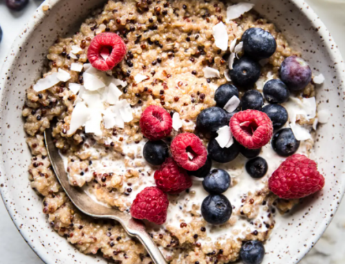 Super Healthy Start Breakfast Idea – Quinoa and Berries!